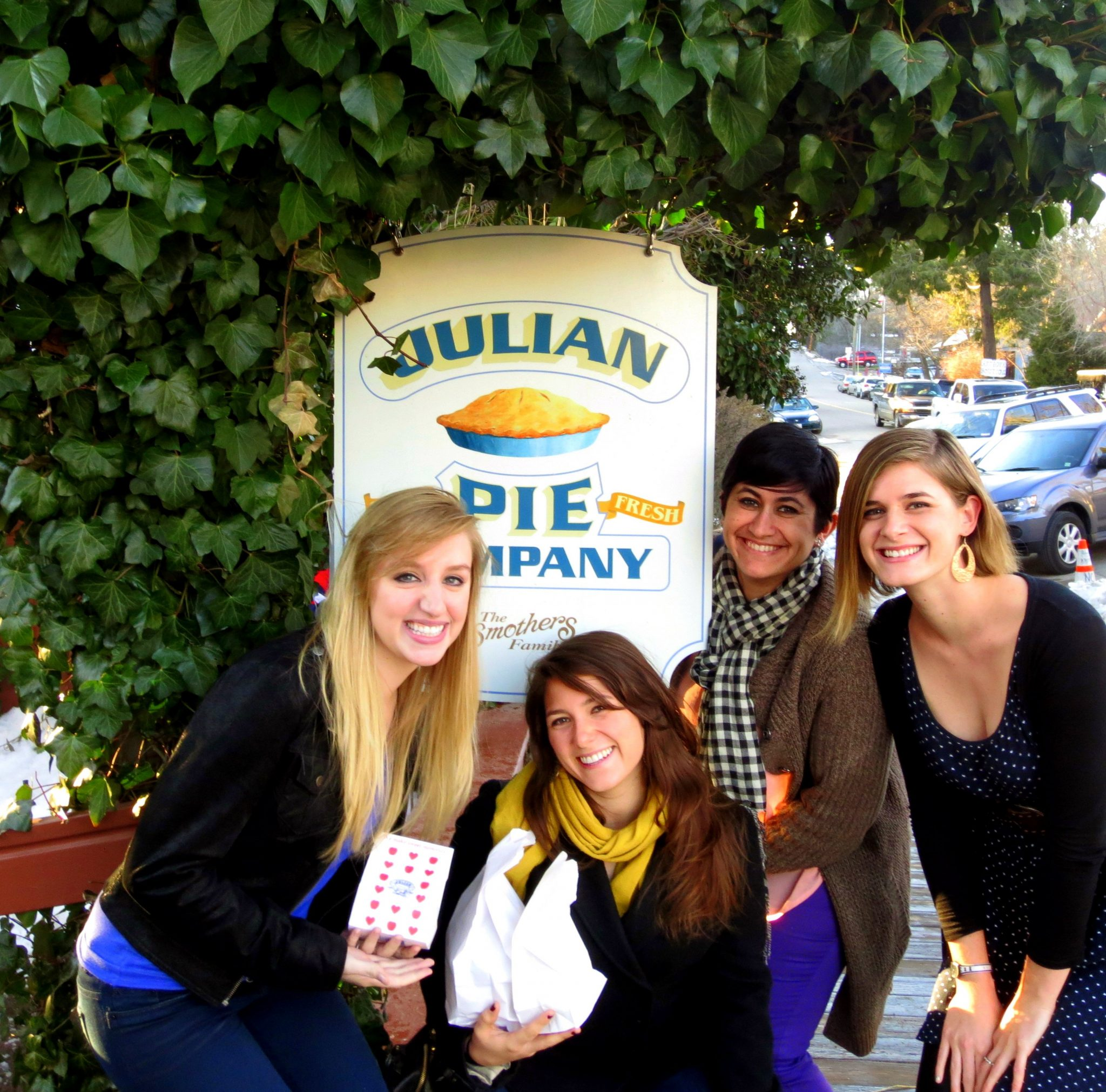 Okay, not technically in San Diego - but a great road trip from the city to taste the best apple pie of your life - Julian Pie Company