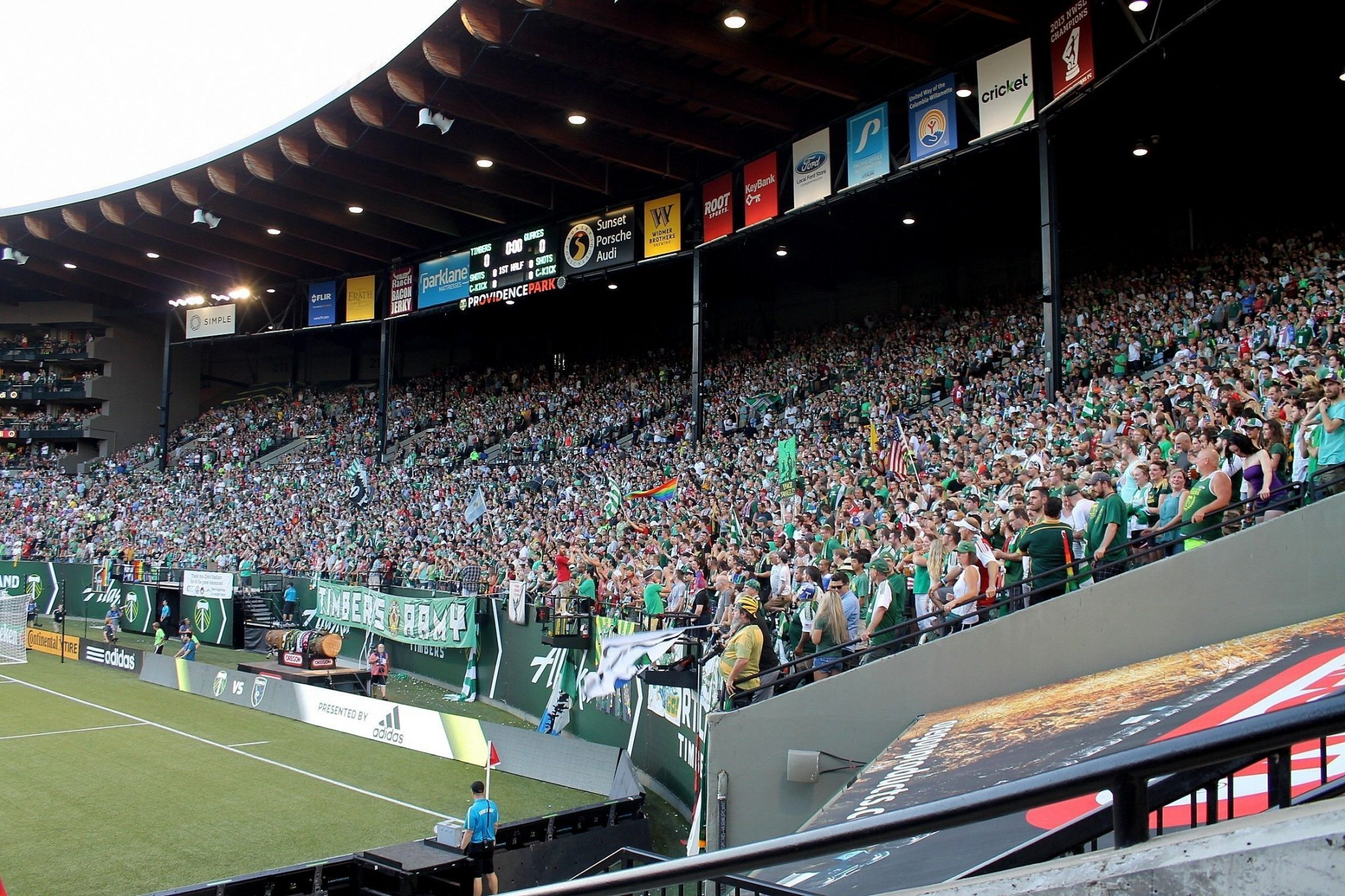 BrewCycle Tour - Timbers Soccer - Portland, Oregon