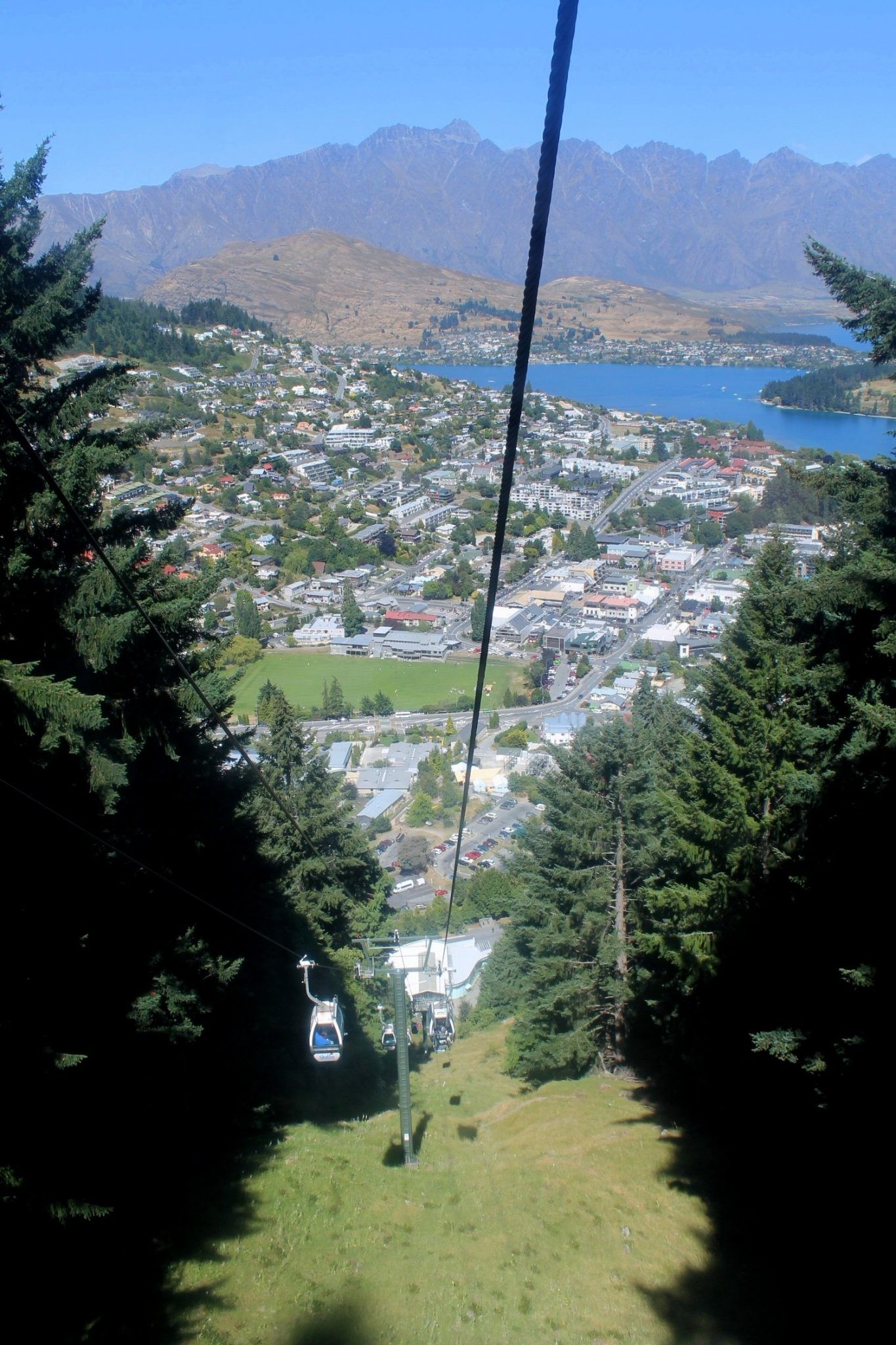 Gondola in Queenstown, New Zealand