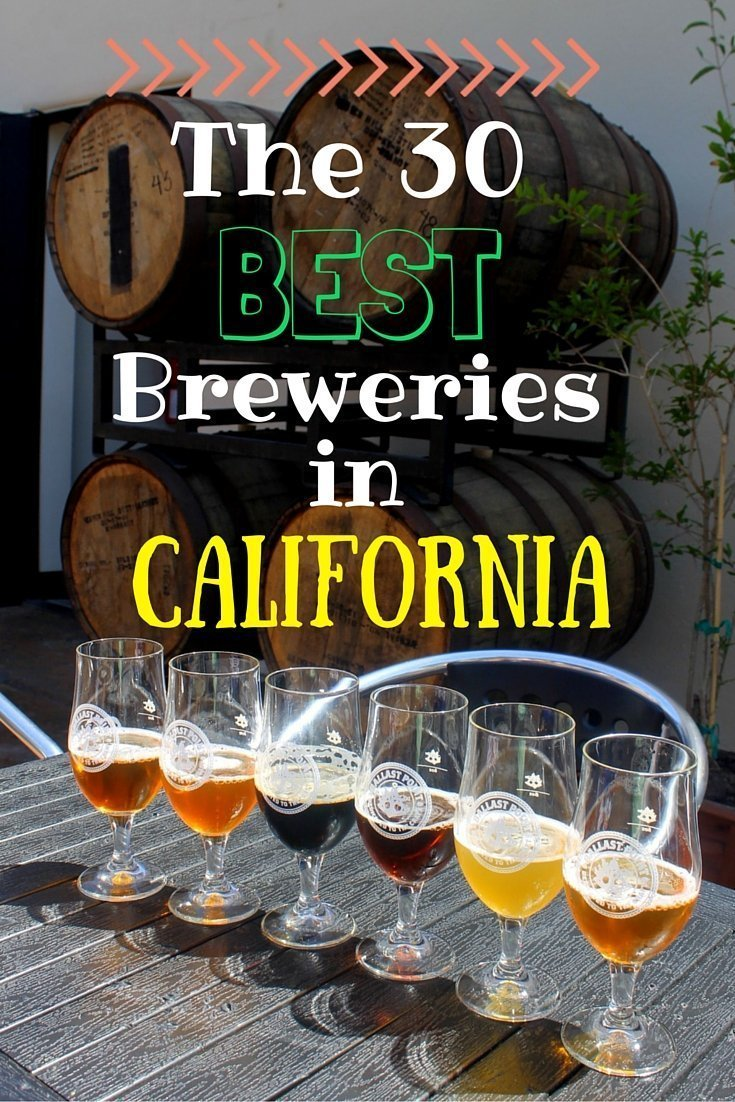 The 30 Best Breweries in California
