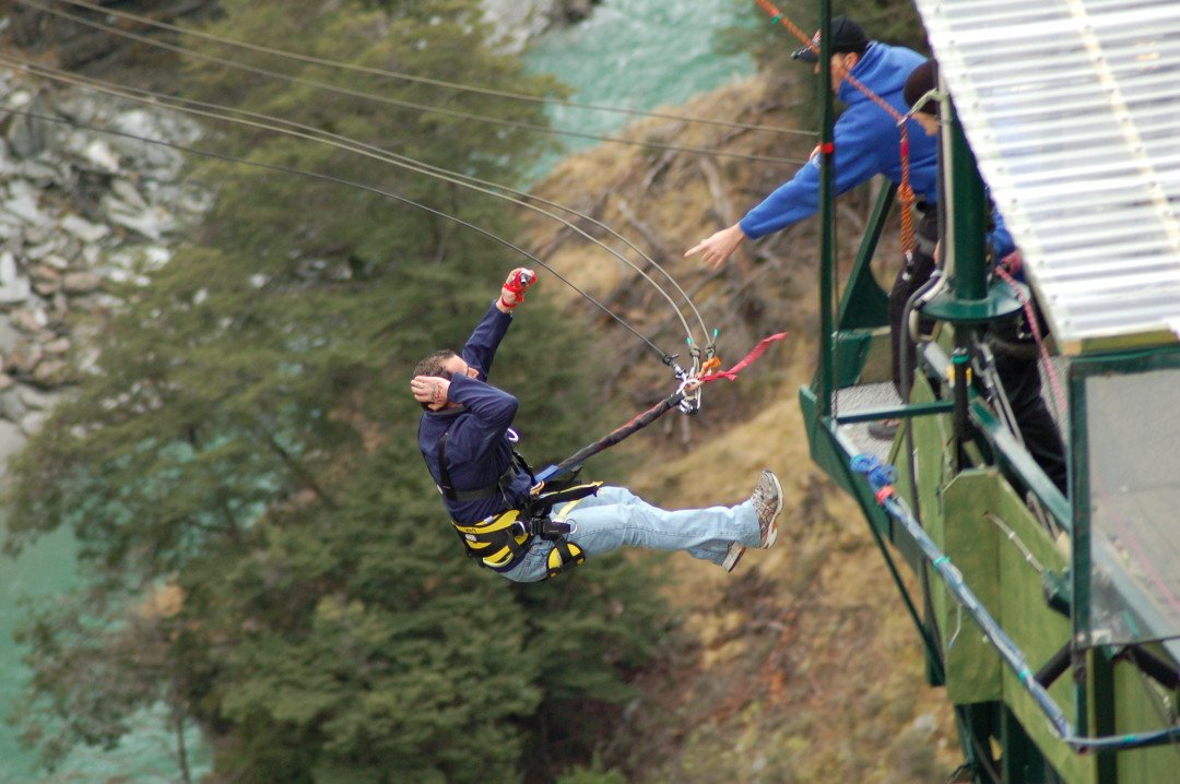 Shotover Canyon Swing - Queenstown, New Zealand