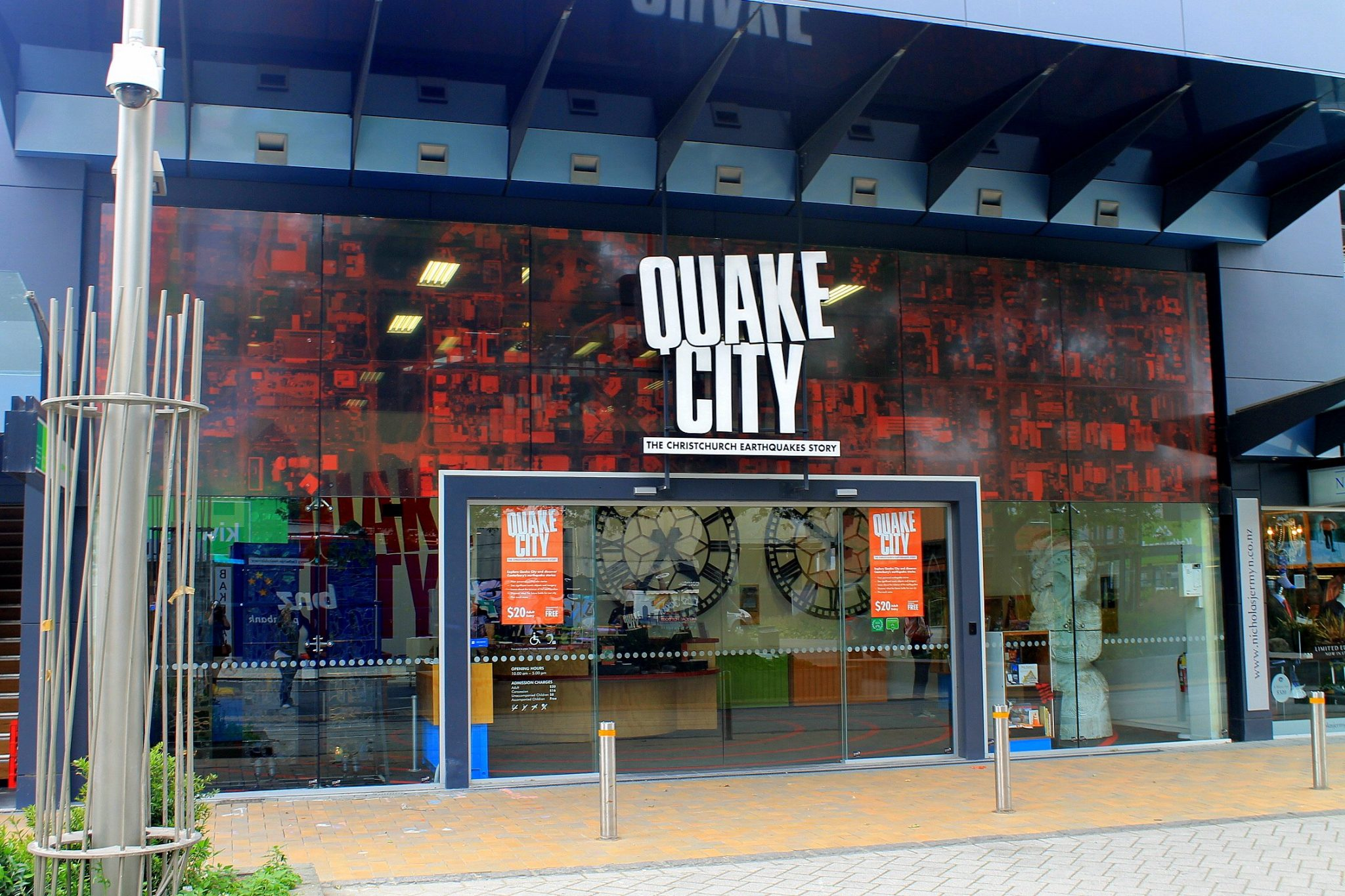 Quake City - Christchurch, New Zealand