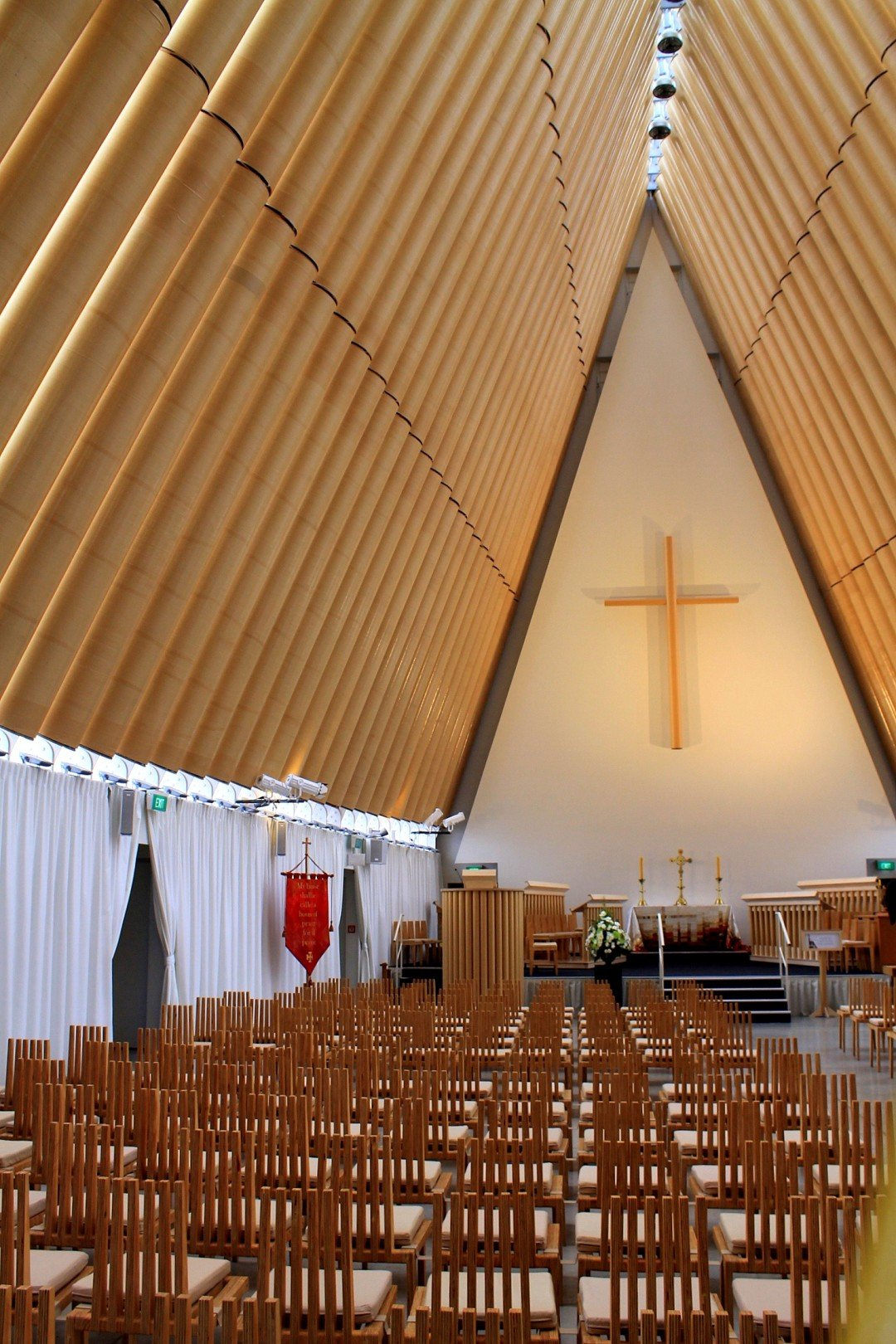 Cardboard Cathedral - Christchurch, NZ
