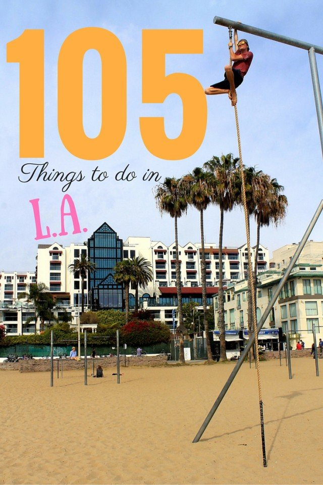 105 Things to do in Los Angeles, California