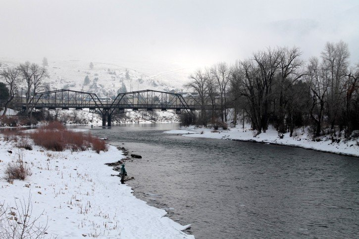 Missoula, Montana in Winter