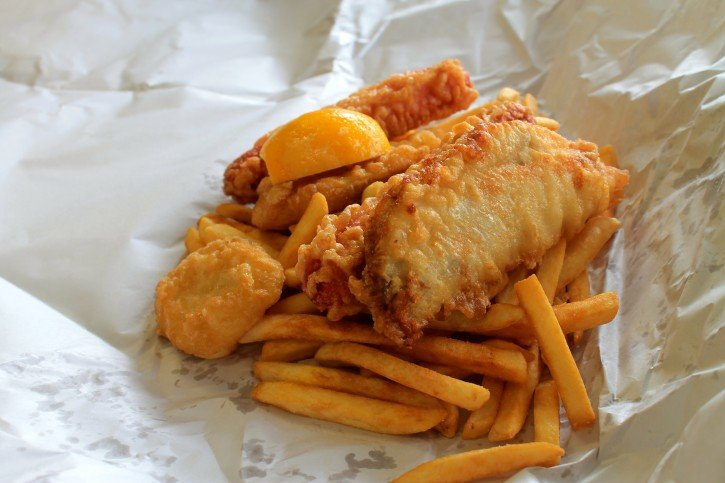 Fish & Chips in Wellington, New Zealand