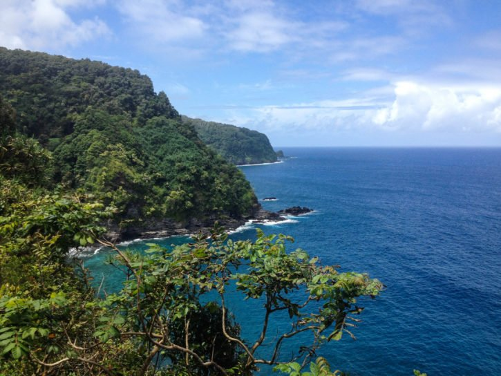 Scenes from the Road to Hana in Maui, Hawaii