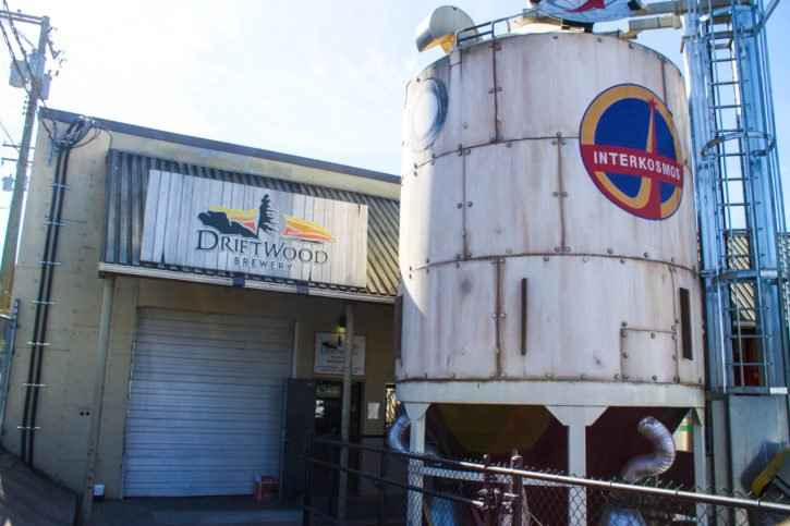 Driftwood Brewing in Victoria, BC, Canada