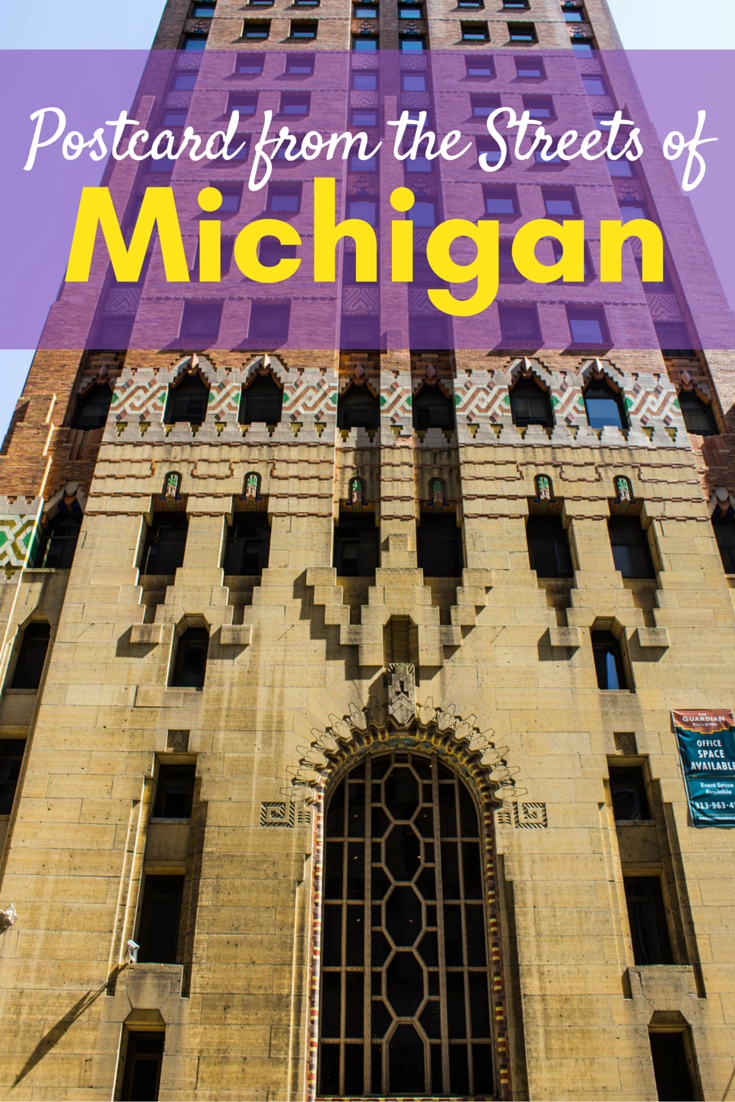 Postcard from the Streets of Michigan, USA