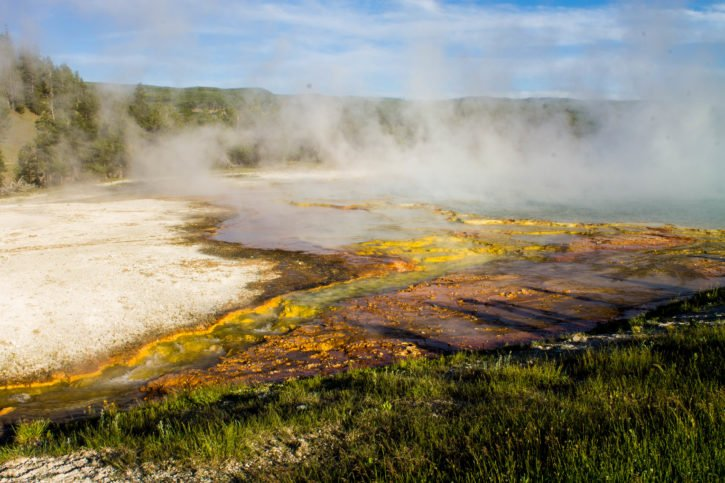 Midway Geyser Basin - Yellowstone National Park - USA Travel