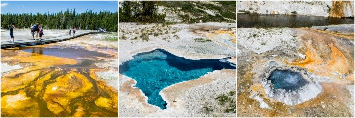 Upper Geyser Basin - Yellowstone National Park - USA Travel