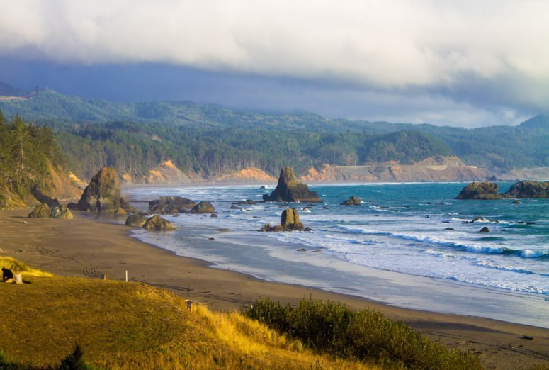 Port Orford near Battle Rock Park, Oregon - USA Travel