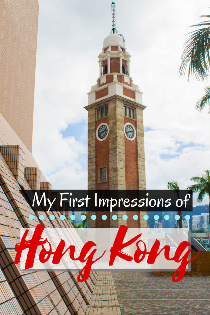 My First Impressions of Hong Kong | Asia Travel