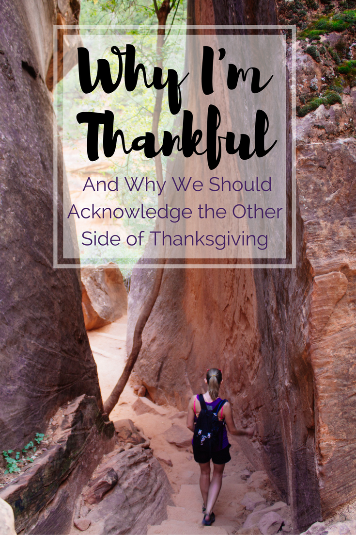 Why I'm Thankful and Why We Should Celebrate the Other Side of Thanksgiving | USA