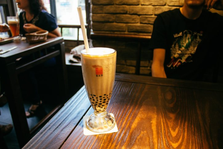Bubble Milk Tea in Taichung, Taiwan
