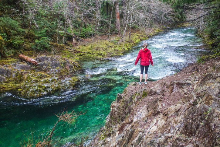 Hiking in the Pacific Northwest in Winter - USA Travel