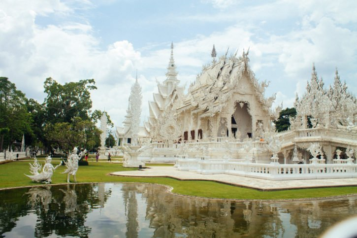 Wat Rong Khung (the White Temple) in Chiang Rai, Thailand - Asia Travel