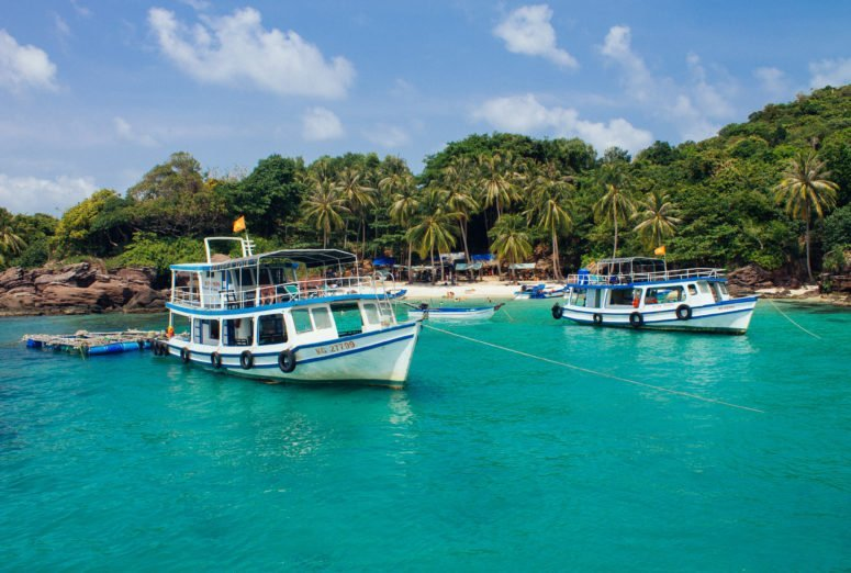 Snorkeling in the Phu Quoc archipelago