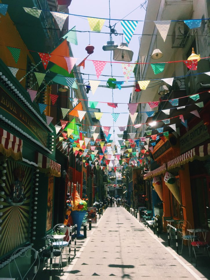 Funky streets of Athens, Greece - Europe Travel