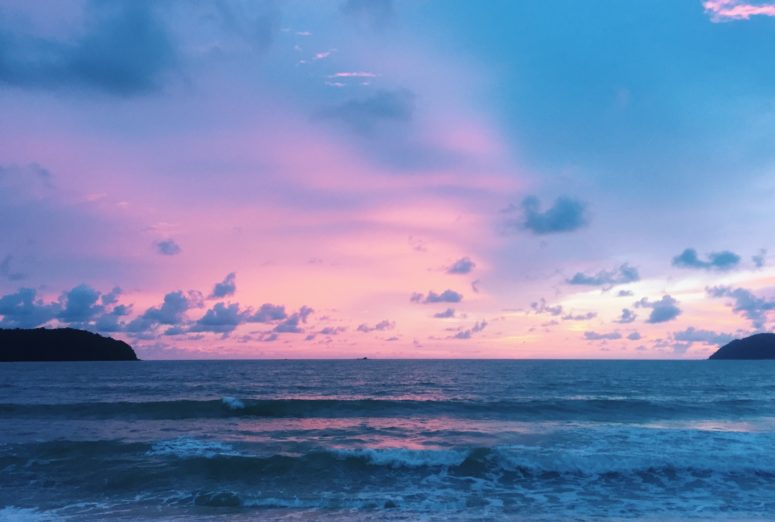Cotton candy sunsets in Langkawi, Malaysia - Asia Travel