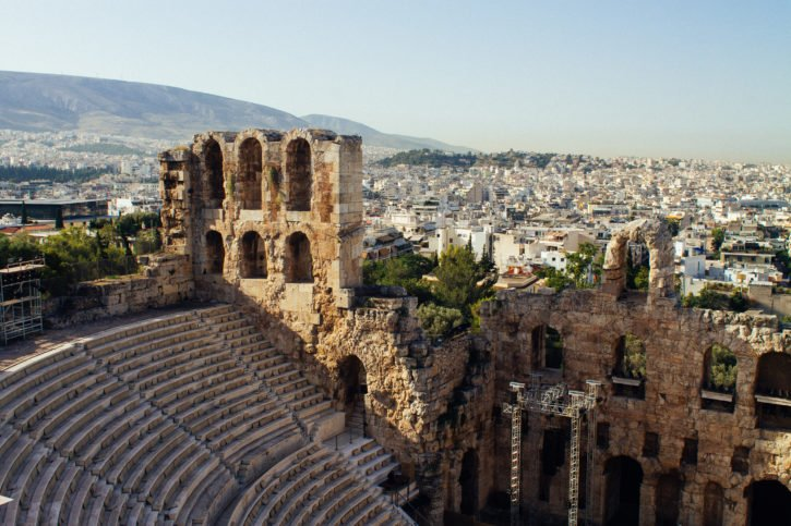 The Acropolis in Athens, Greece - Europe Travel