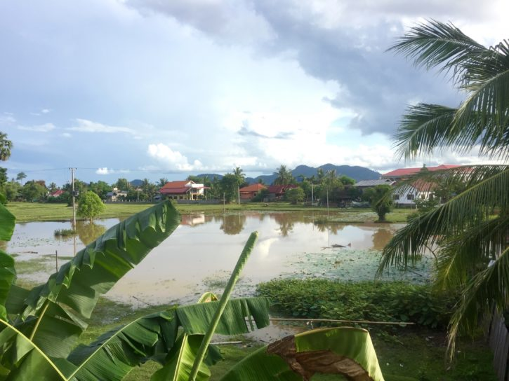 View from BABA Hotel in Don Det, Laos - Southeast Asia Travel