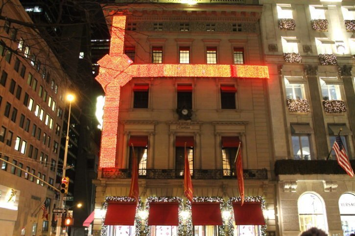 Christmas in New York City, USA Travel
