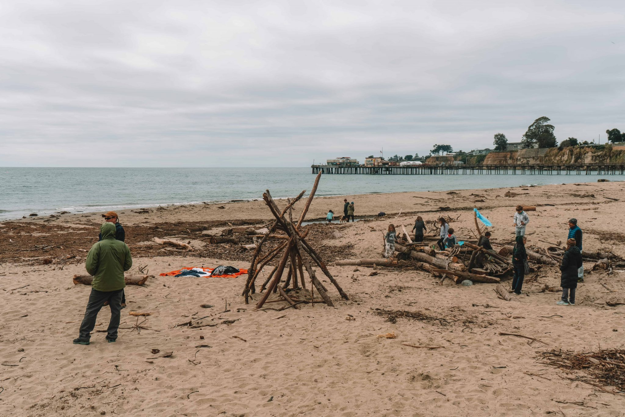 capitola beach - perfect beach for the whole family