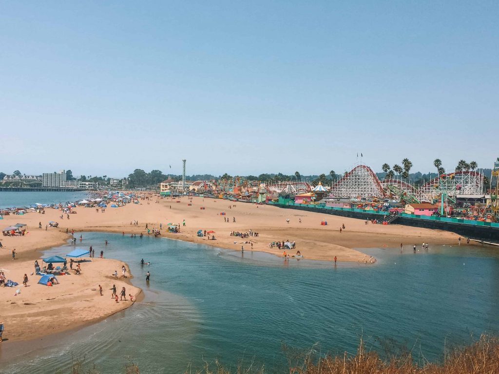 boardwalk santa cruz main beach