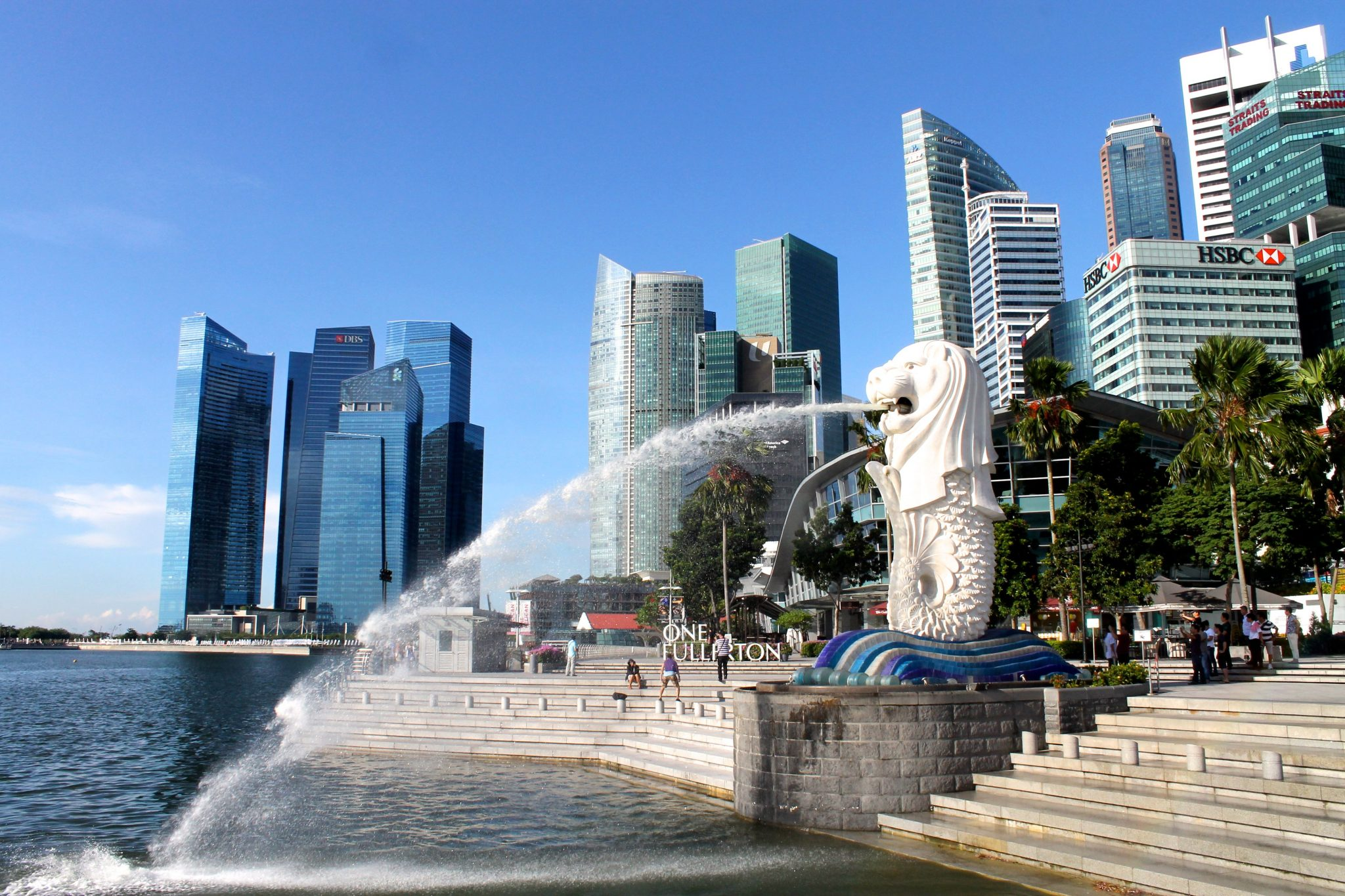 merlion park singapore how to get there