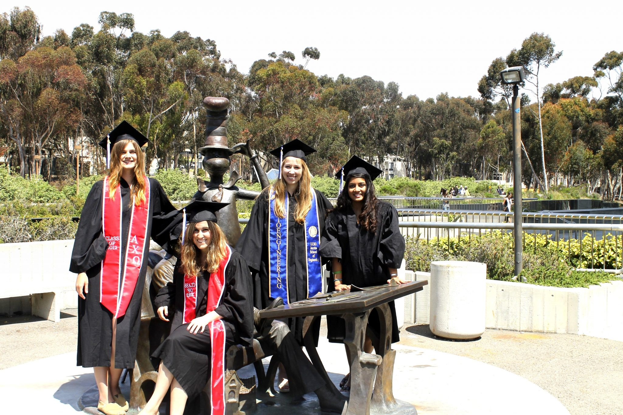 Graduating seniors at UC San Diego