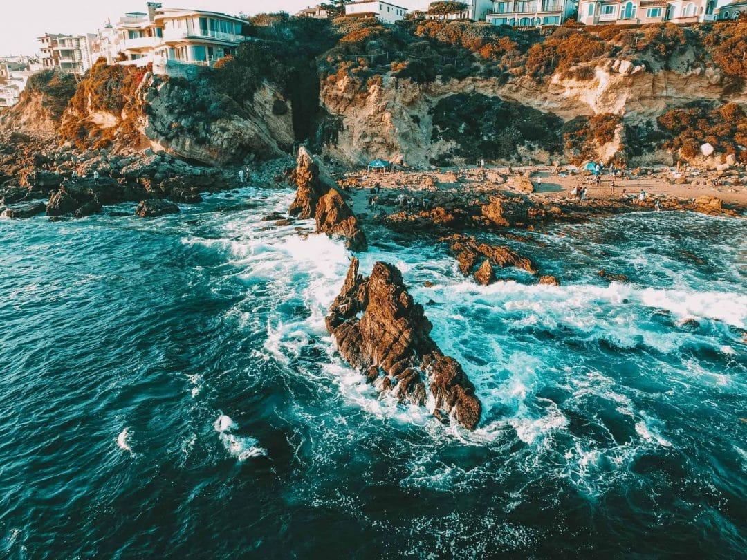 Corona Del Mar State Beach in Newport Beach