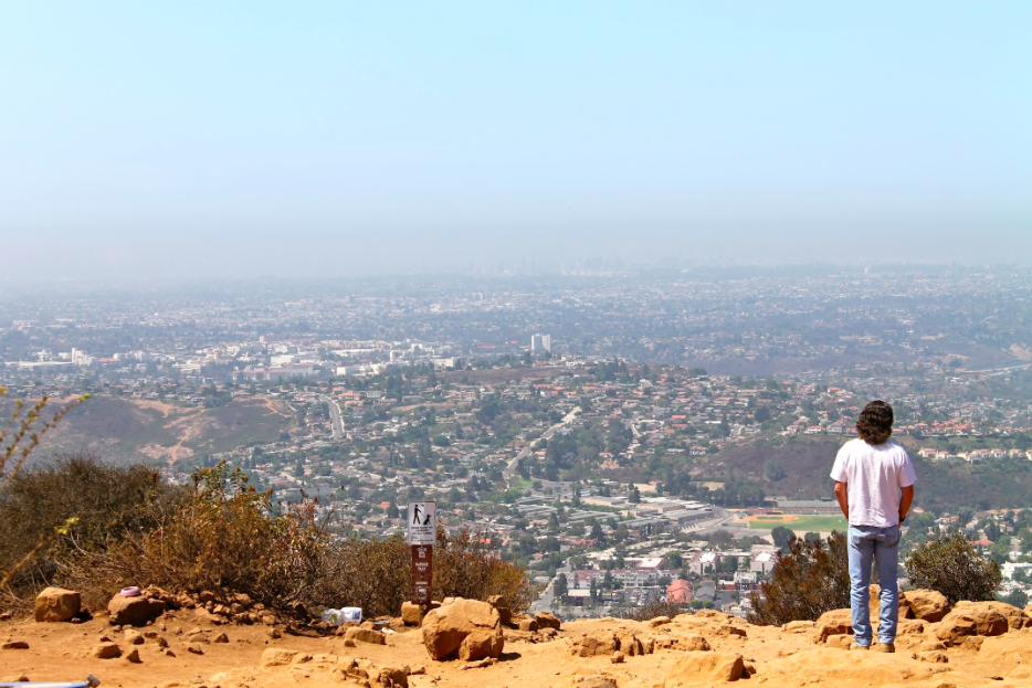 san diego things to do - hike cowles mountain
