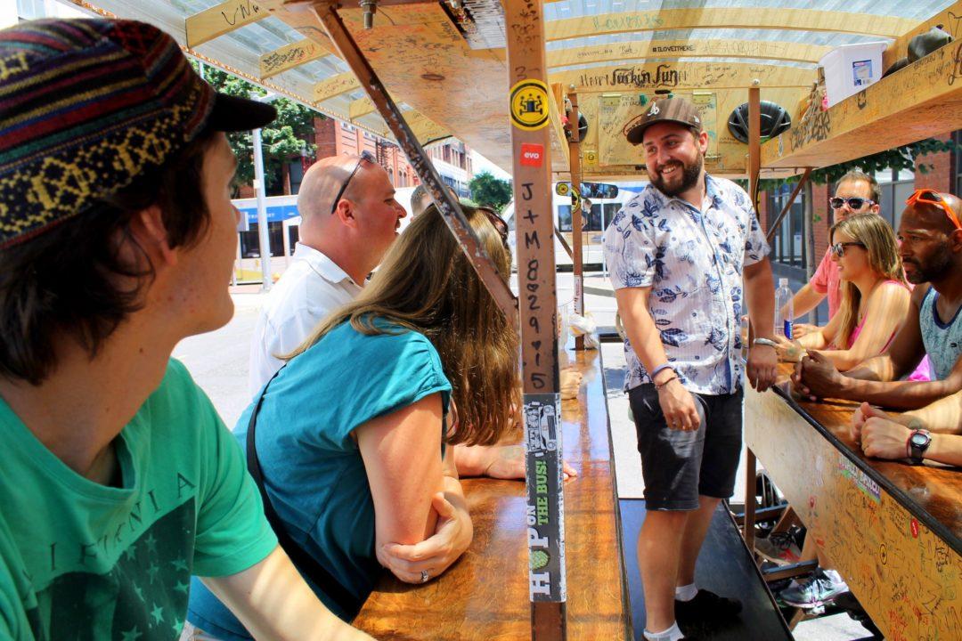 Brewcycle Portland, Oregon | PNW Travel