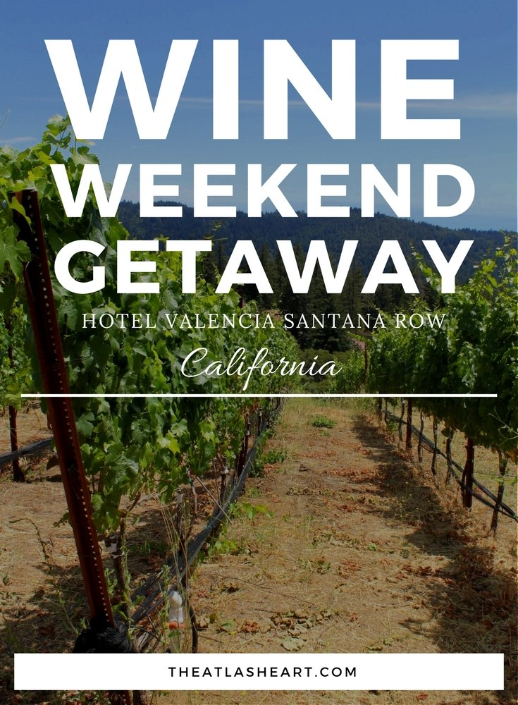 Wine Weekend Getaway with Hotel Valencia Santana Row around the Santa Cruz Mountains - San Jose, California | USA Travel
