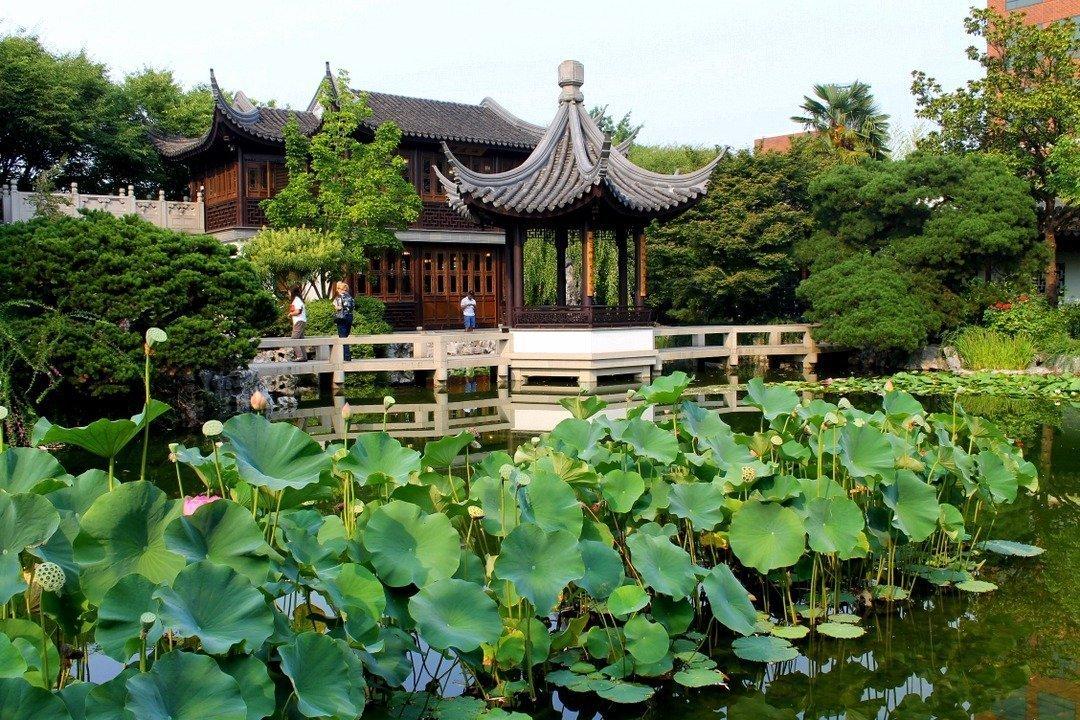 Lan Su Chinese Garden Portland Oregon The Atlas Heart