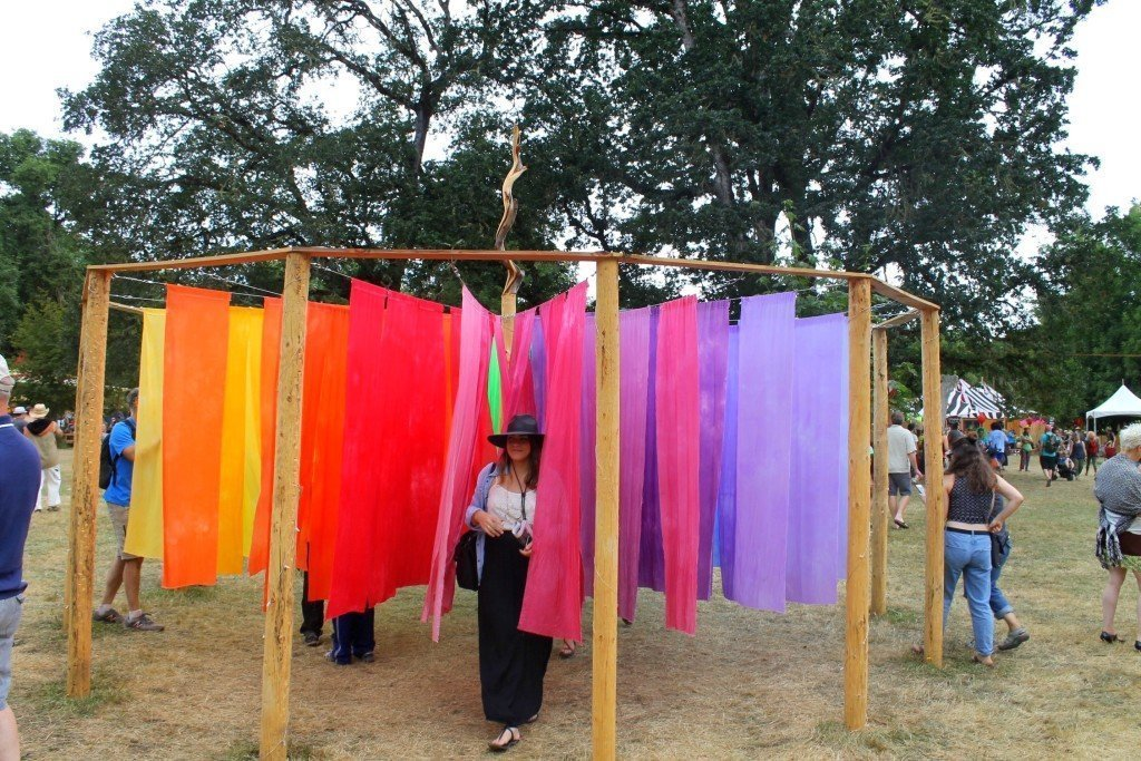 A guide to the Oregon Country Fair in Veneta