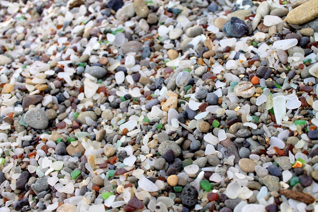 Glass Beach - Northern, California