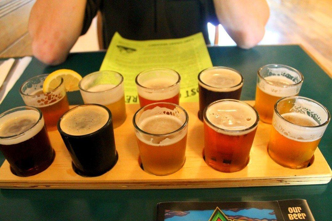 Lost Coast Brewery, Eureka - Northern California