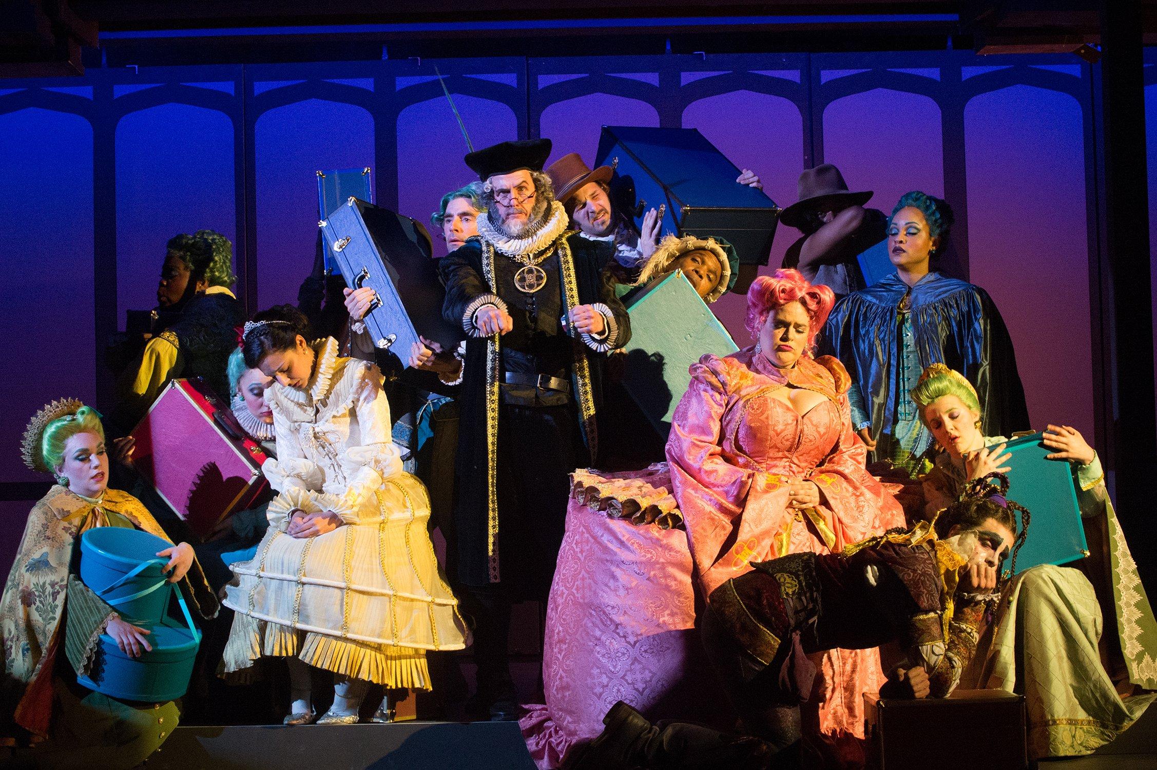 The Guys and Dolls ensemble. Photo: Jenny Graham