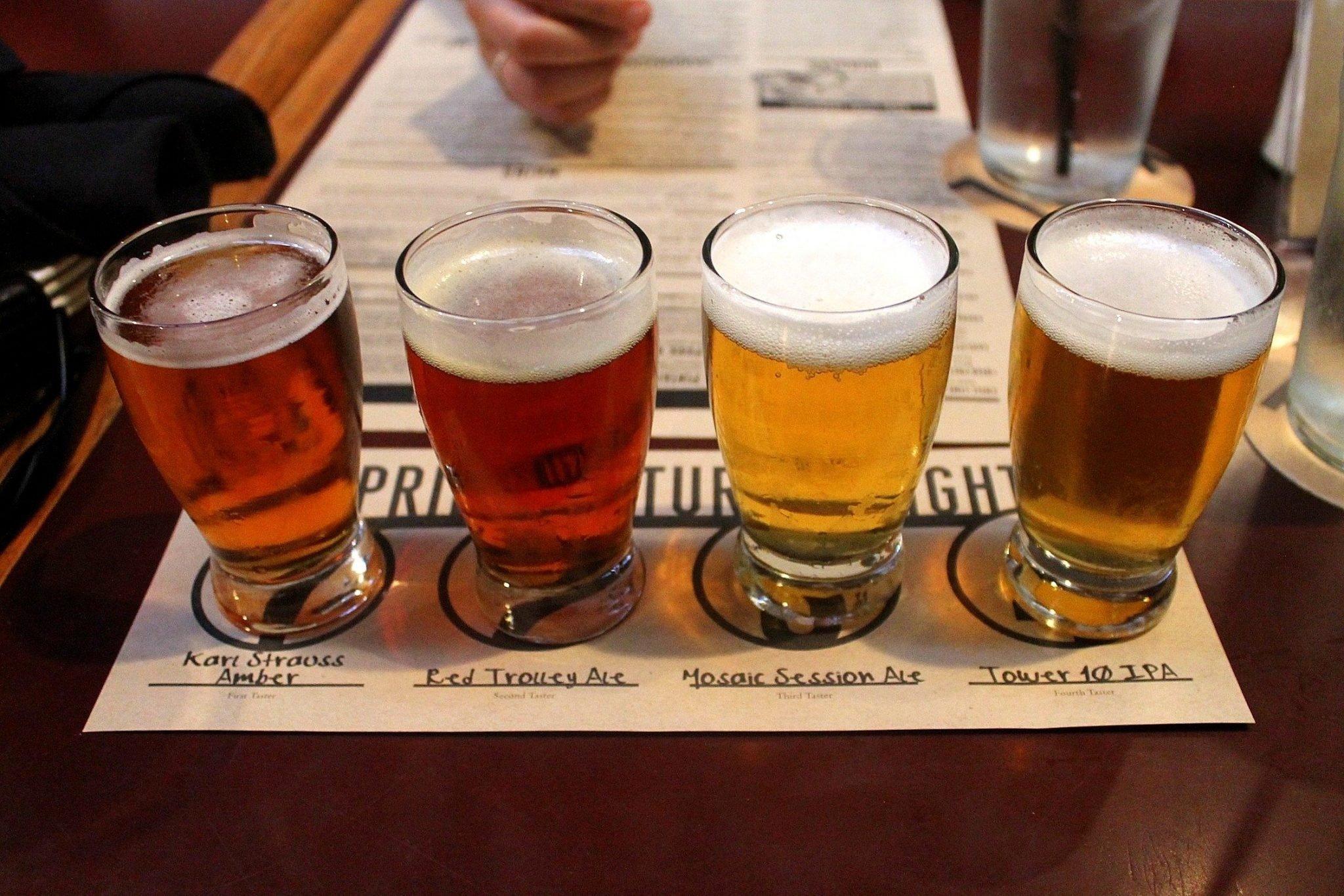 Karl Strauss Brewery - San Diego, California - California Breweries