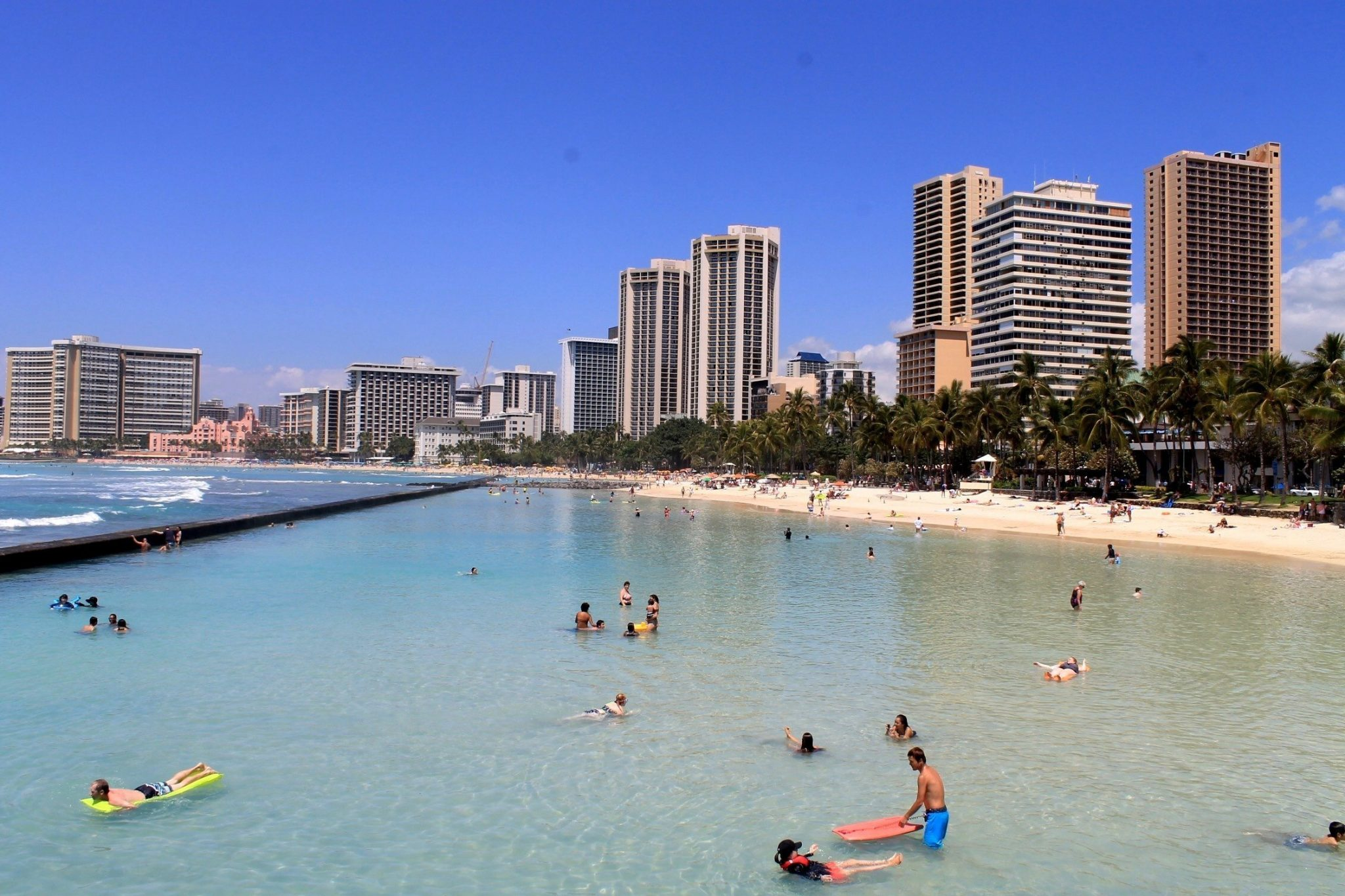 Waikiki Beach - Honolulu, Oahu