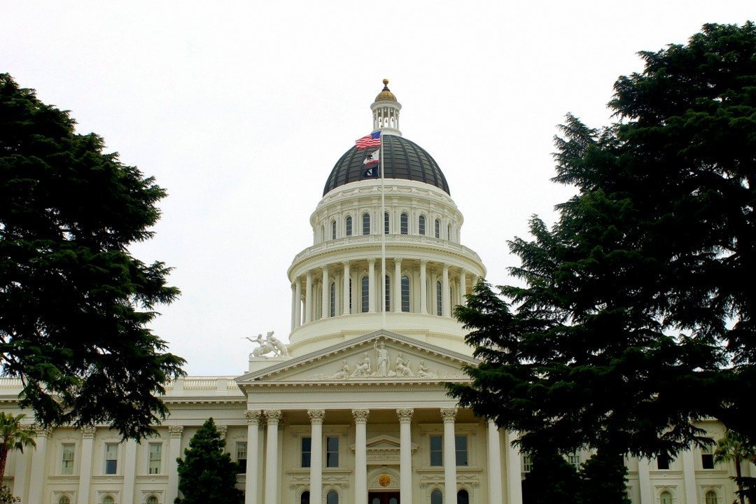 Where is Sacramento, California - State Capitol Building