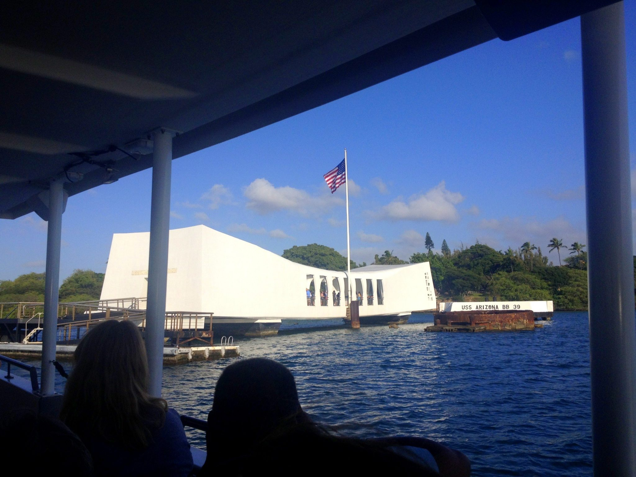 USS Arizona Memorial - Pearl Harbor, Oahu, Hawaii