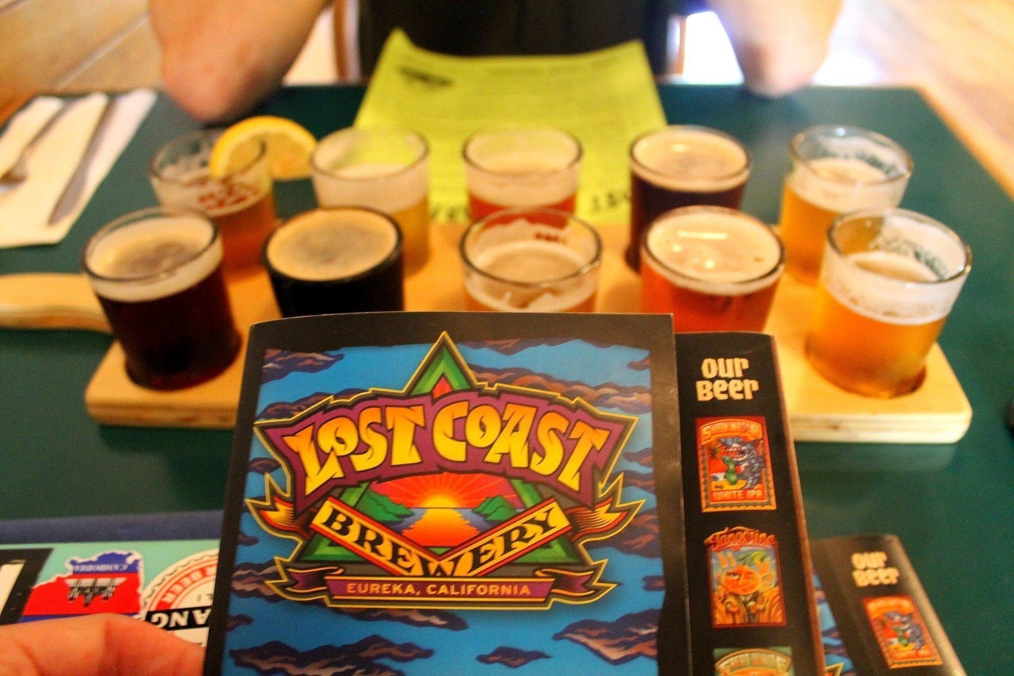 Lost Coast Brewery - Eureka, California - best breweries to visit in California