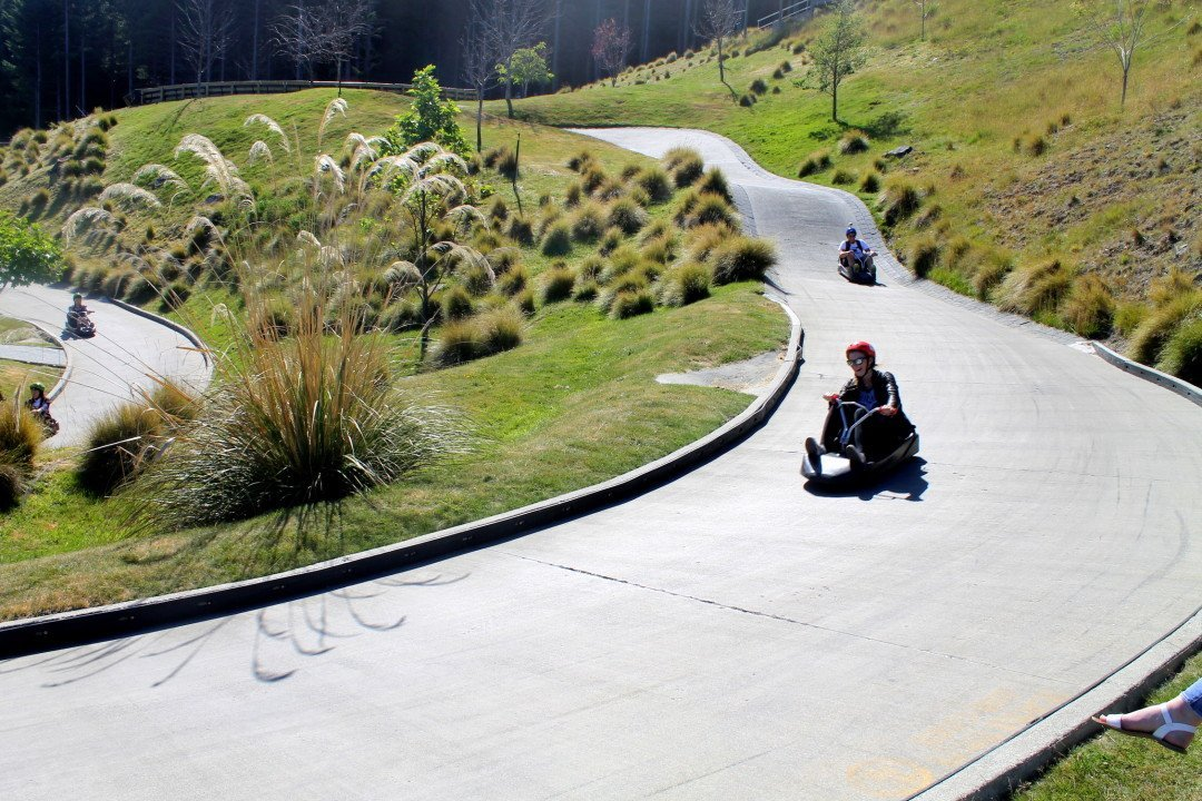 Luging in Queenstown, New Zealand | luge Queenstown