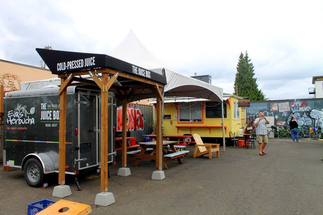 Burnside Food Carts - Portland, Oregon