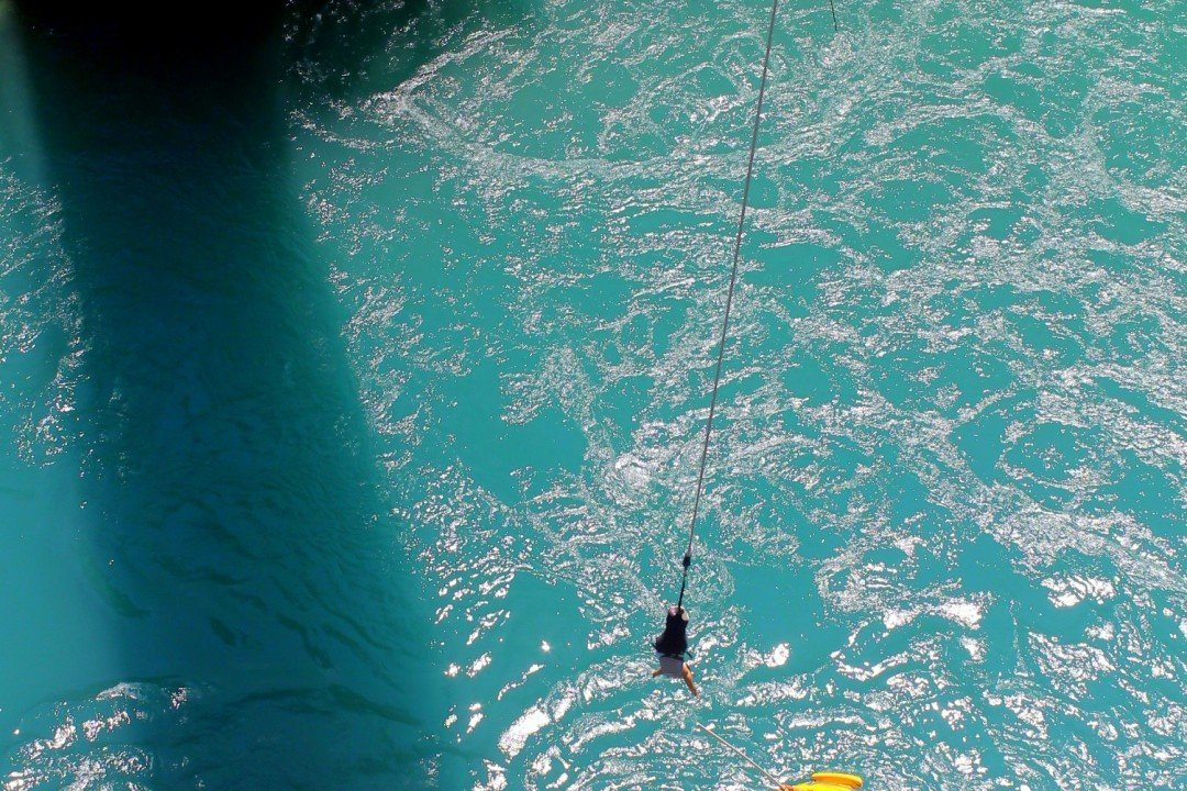 Bungy in Queenstown, New Zealand | Queenstown bungee jump