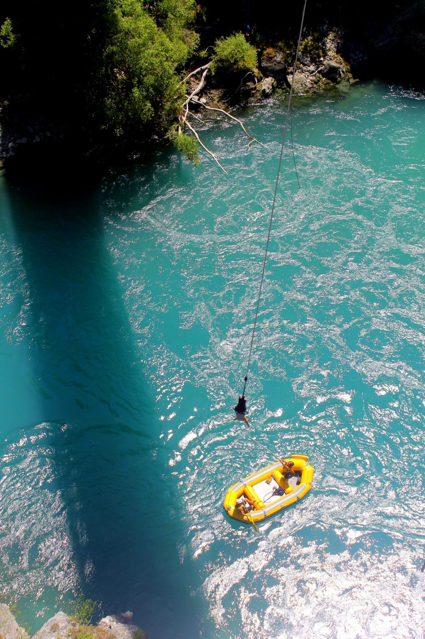 Bungy in Queenstown, New Zealand