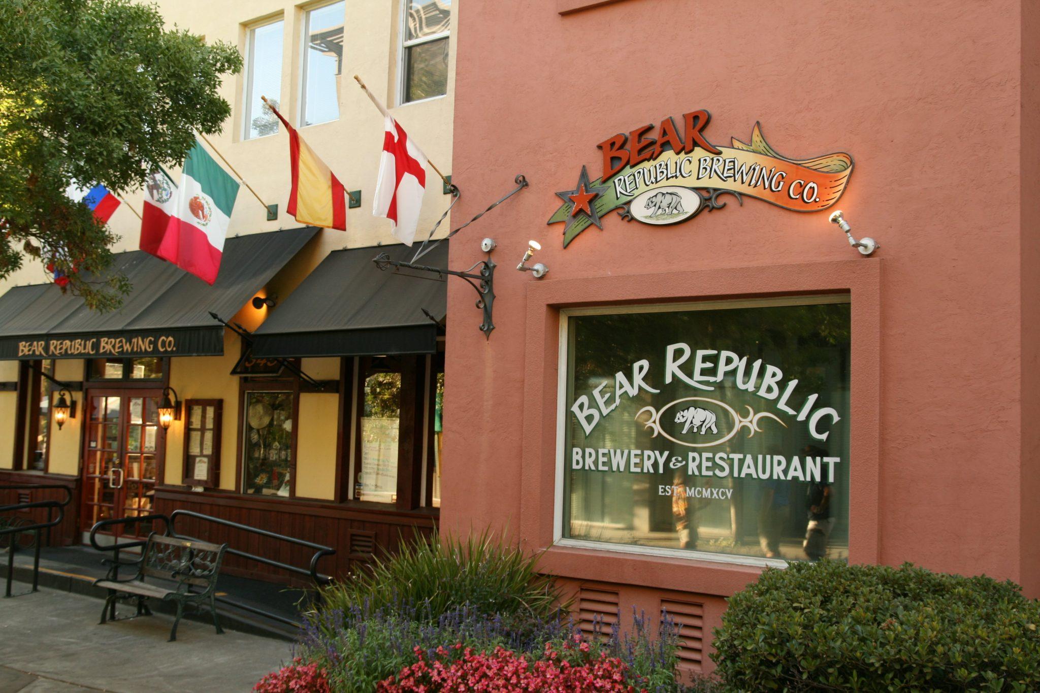 Bear Republic - Healdsburg, California - top 10 beers in California
